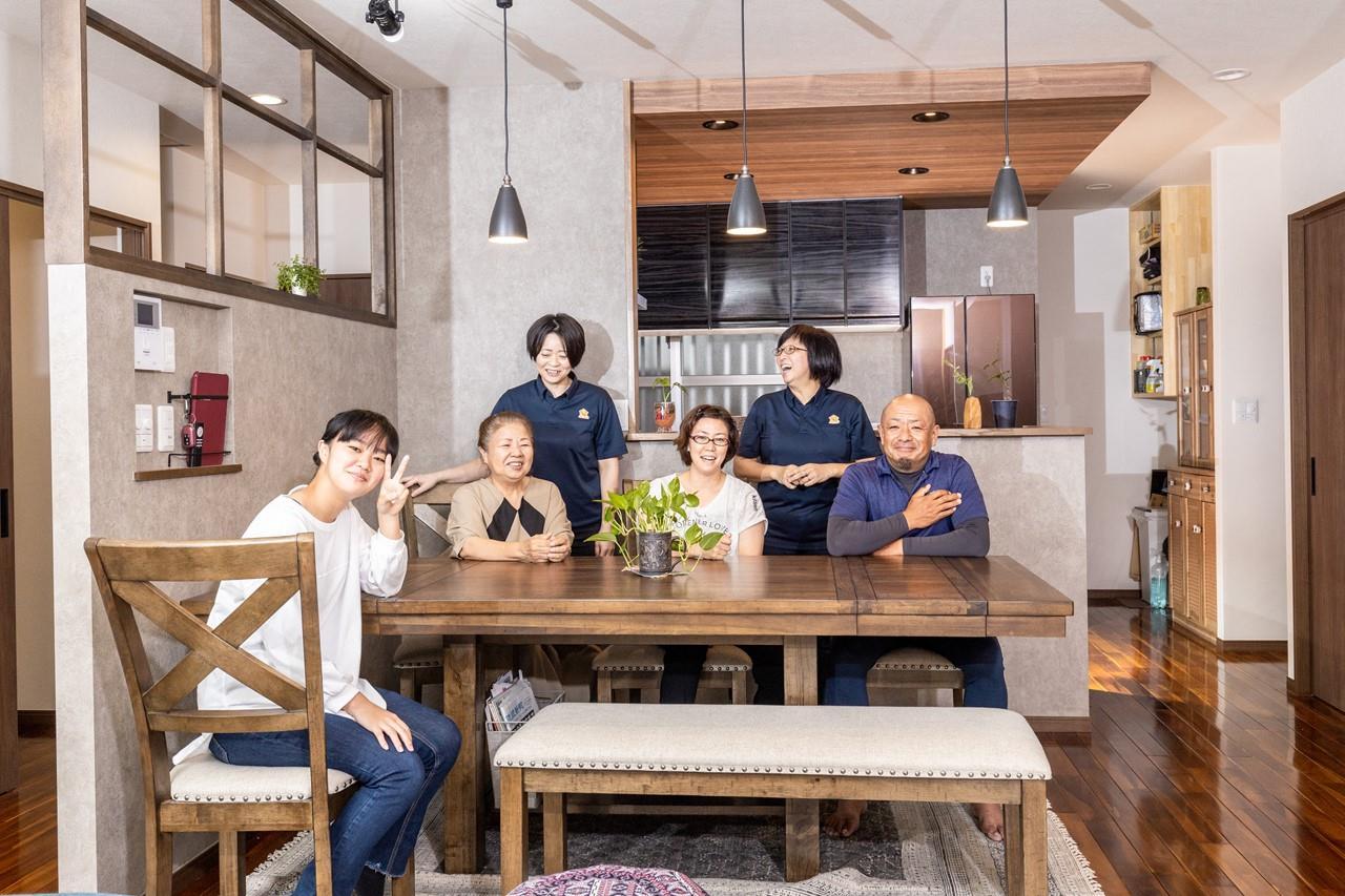 沖縄・那覇のリフォーム 実際のお客様の写真:日々の変化を楽しめました