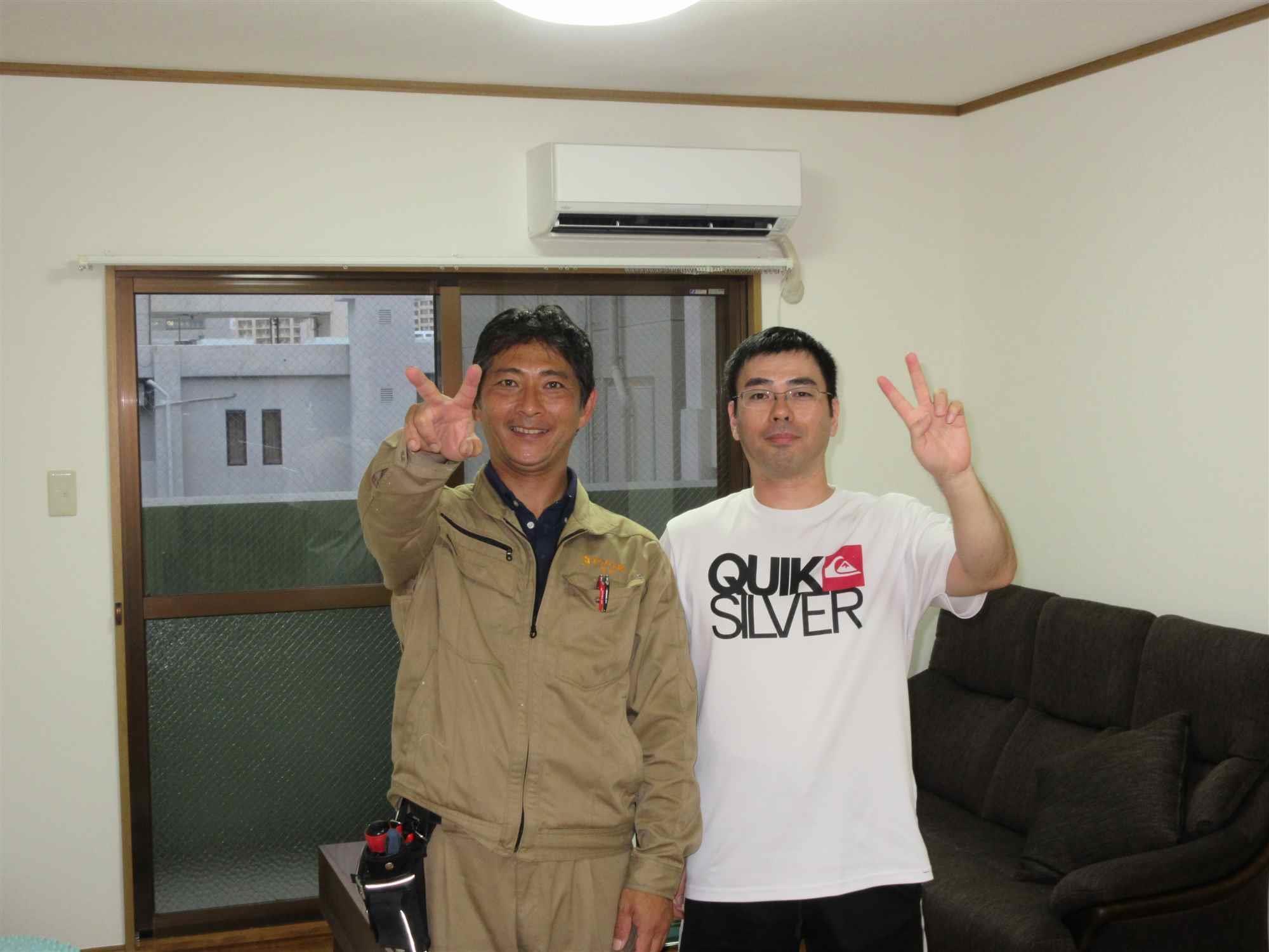 沖縄・那覇のリフォーム 実際のお客様の写真:大変満足しています。
