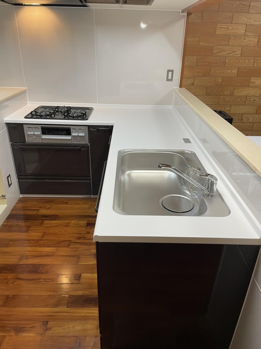 キッチン取替え(リフォーム施工事例)を公開しました。 | 沖縄や那覇でリフォームするなら【株式会社 あうん工房】