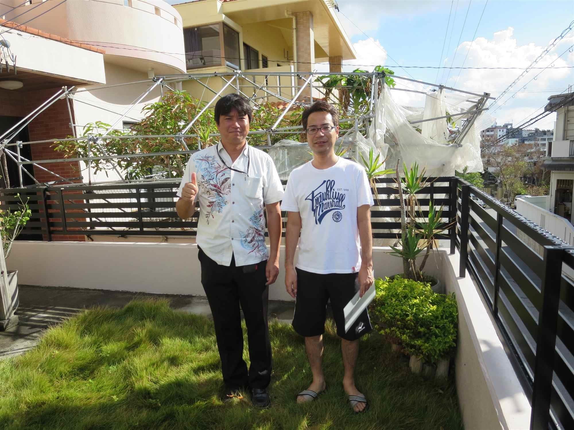 沖縄・那覇のリフォーム 実際のお客様の写真:森本様の人柄で、この人なら大丈夫かなという感触がありました。