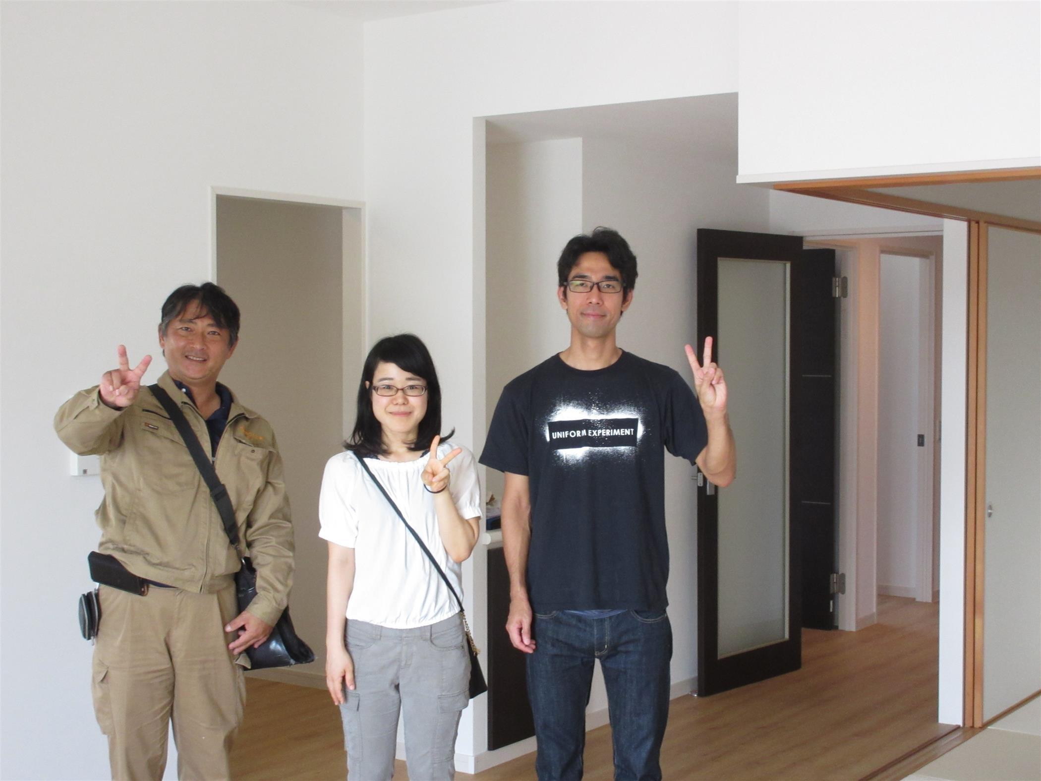 沖縄・那覇のリフォーム 実際のお客様の写真:床上張り工事