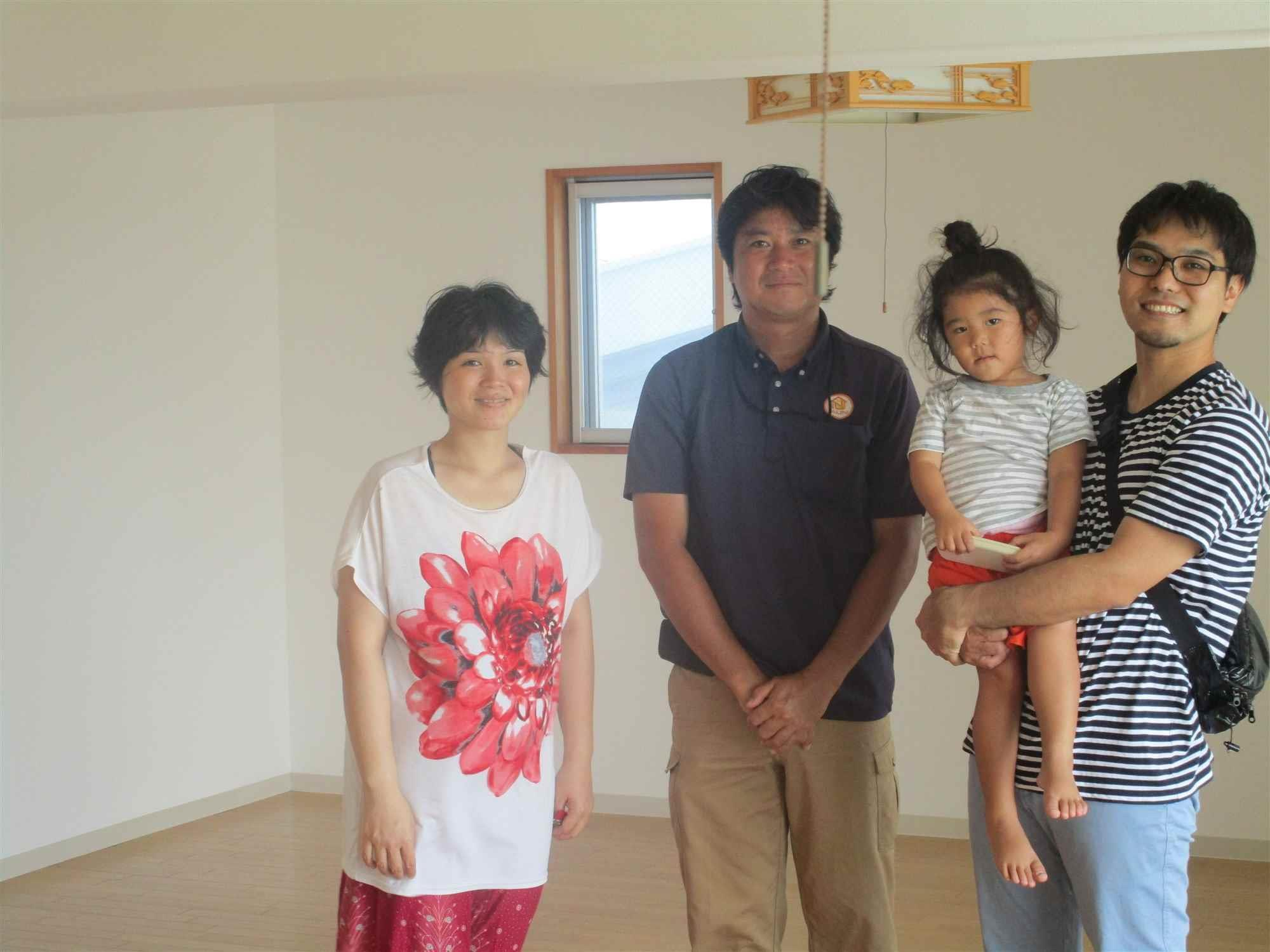 沖縄・那覇のリフォーム 実際のお客様の写真:対応が本当に好印象でした。