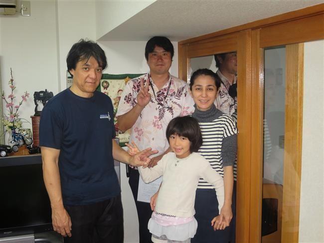沖縄・那覇のリフォーム 実際のお客様の写真:予想以上に、きれいに仕上がってました。