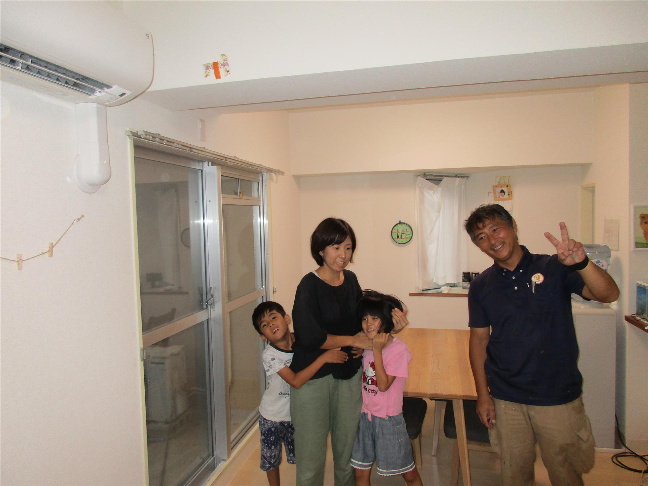沖縄・那覇のリフォーム 実際のお客様の写真:床の張り替え