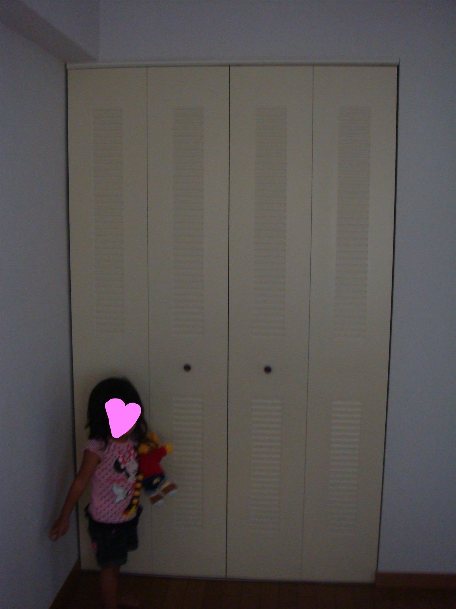 ディズニーの壁紙でかわいい子供部屋に沖縄 リフォーム施工事例