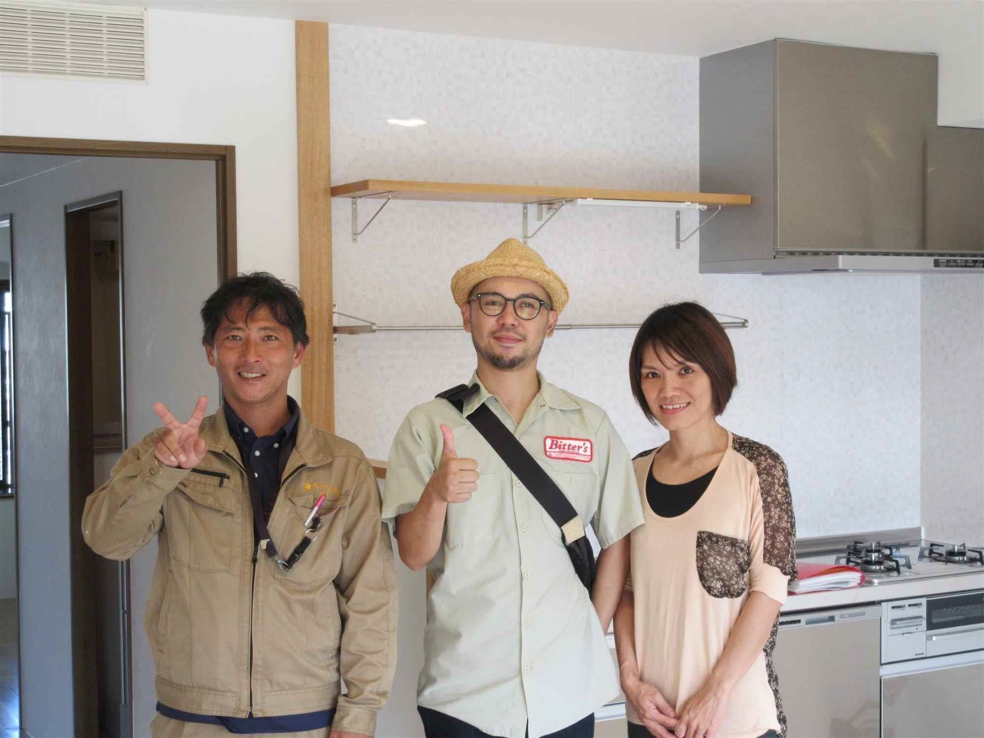 沖縄・那覇のリフォーム 実際のお客様の写真:社員さんの丁寧な対応