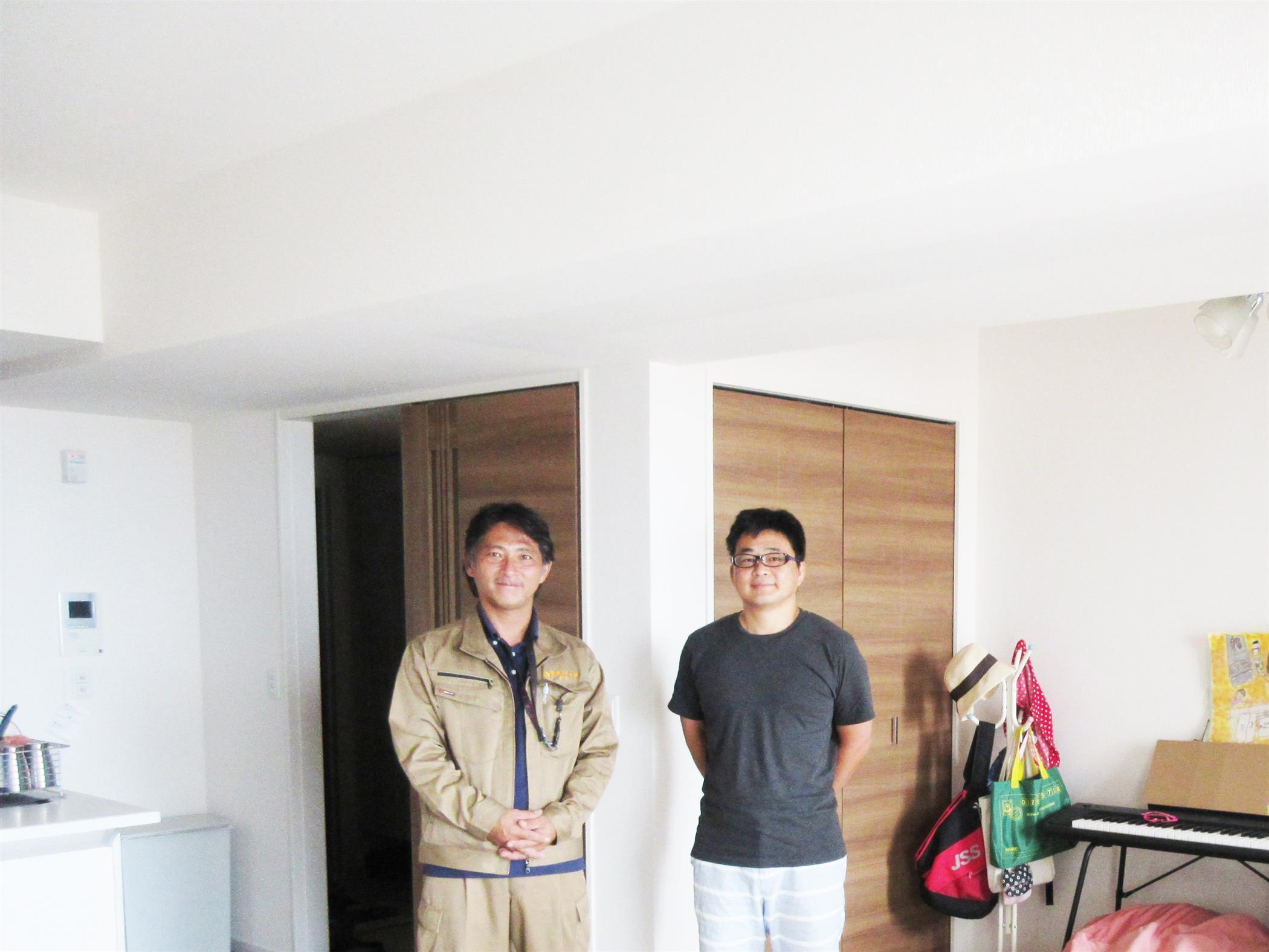 沖縄・那覇のリフォーム 実際のお客様の写真:HPを見て、この会社であれば任せてみたいと考えました。