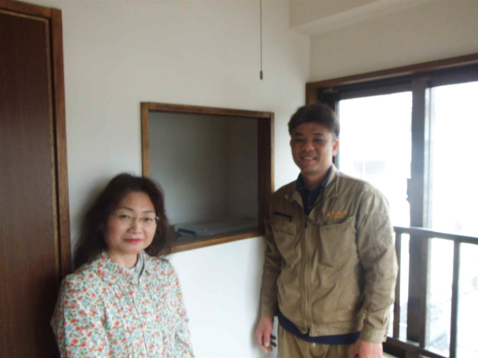 沖縄・那覇のリフォーム 実際のお客様の写真:説明が具体的であったので予定が立てやすかった