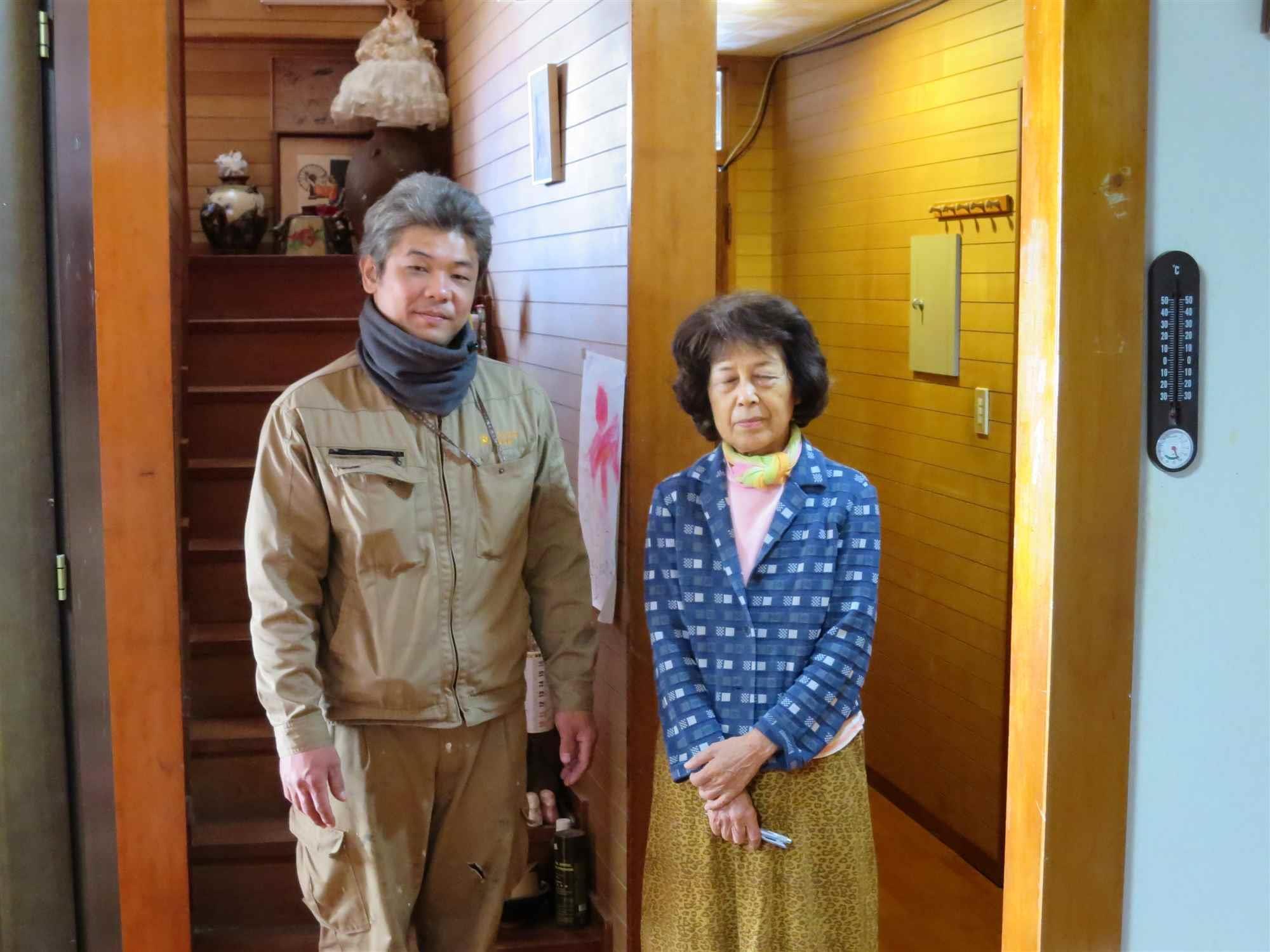 沖縄・那覇のリフォーム 実際のお客様の写真:息子に紹介してもらい