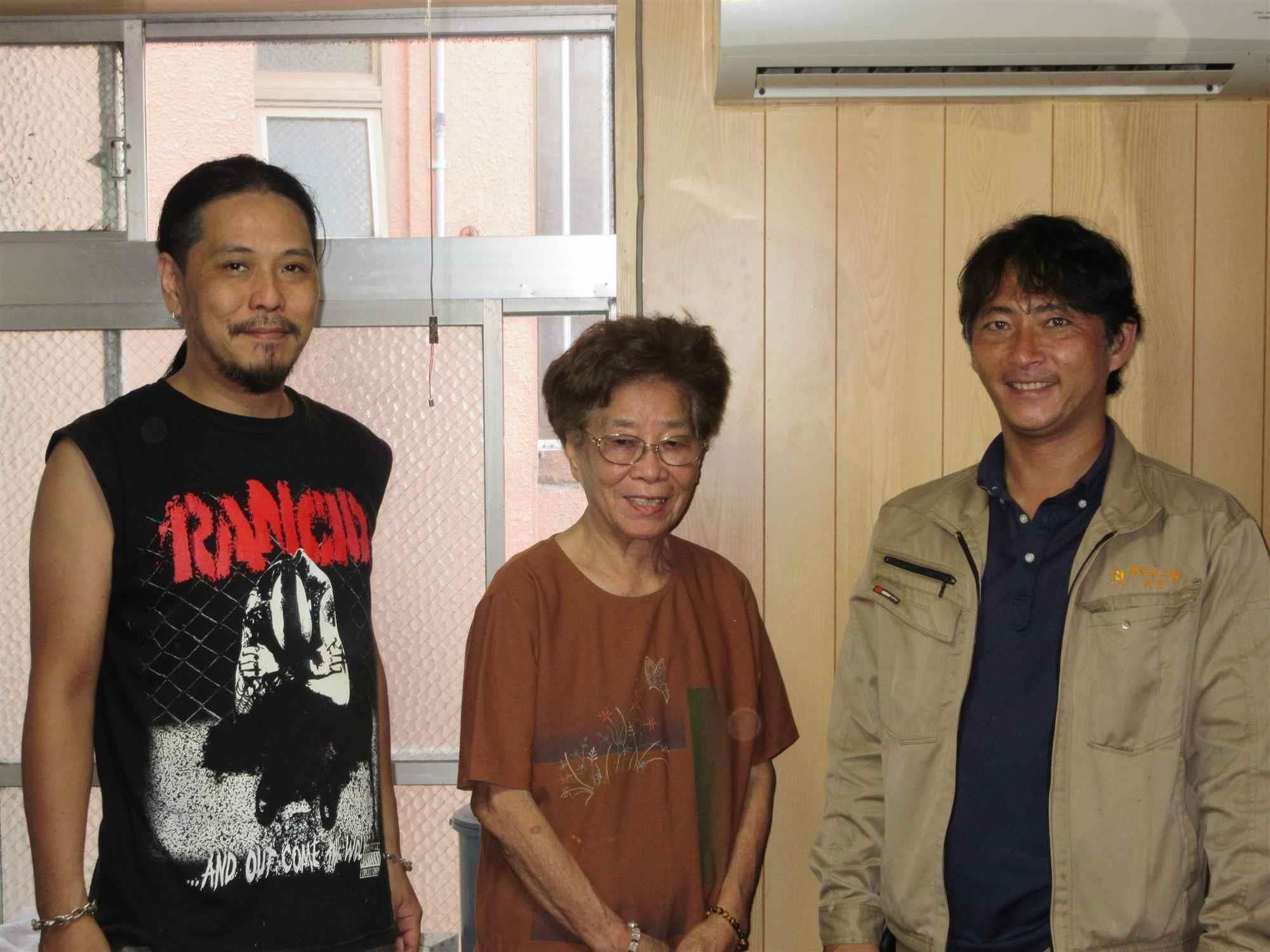 沖縄・那覇のリフォーム 実際のお客様の写真:高齢の父のベットを配置するにあたって床の補強を悩んでいた