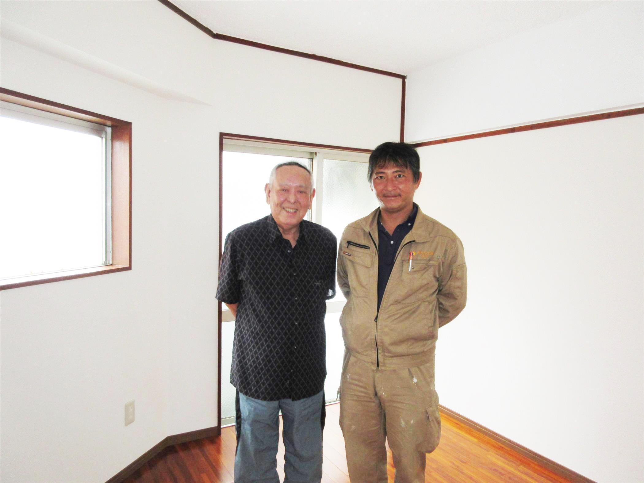 沖縄・那覇のリフォーム 実際のお客様の写真:泊アパート改装工事