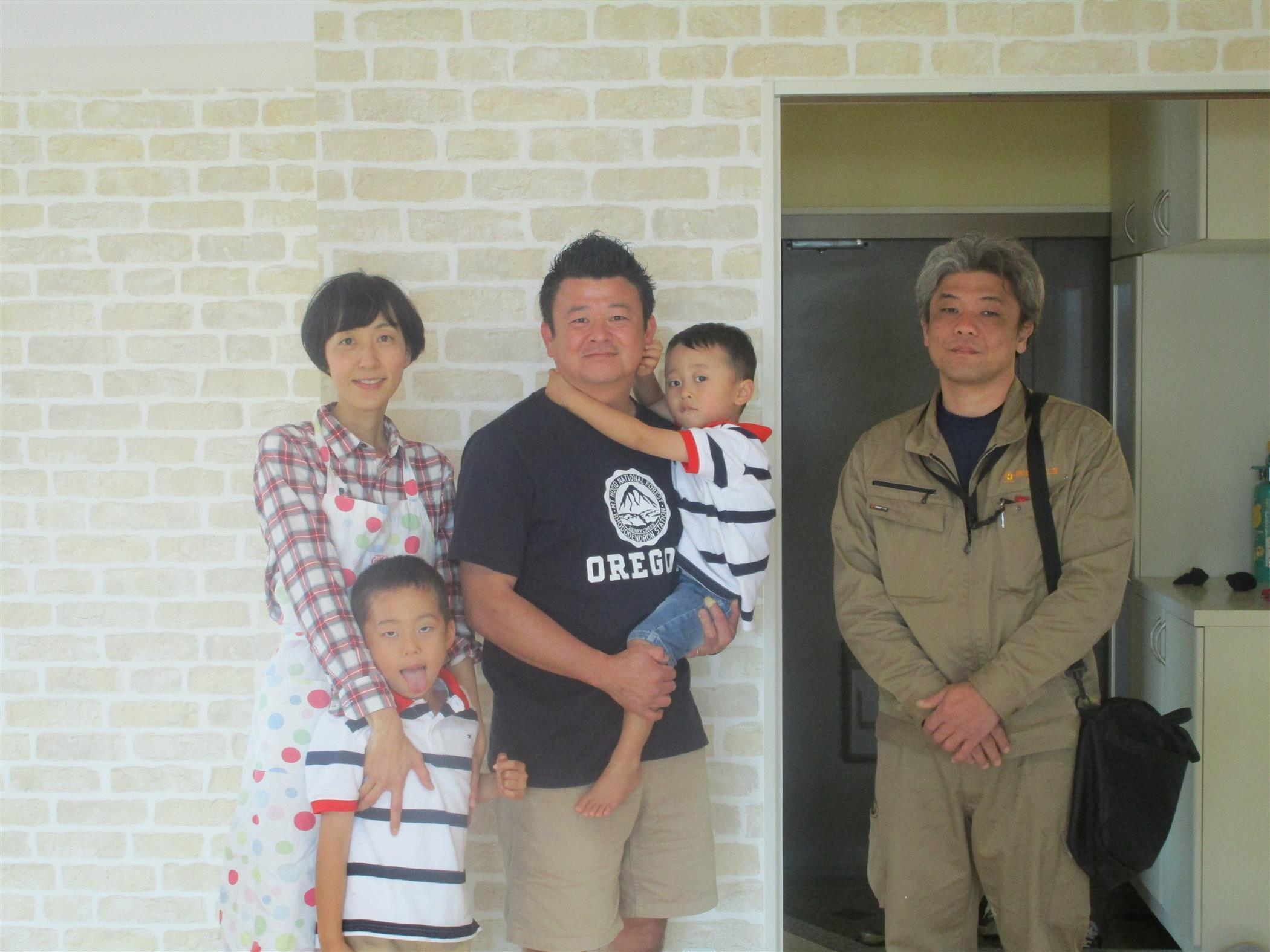 沖縄・那覇のリフォーム 実際のお客様の写真:あうん工房様の真摯な対応です。