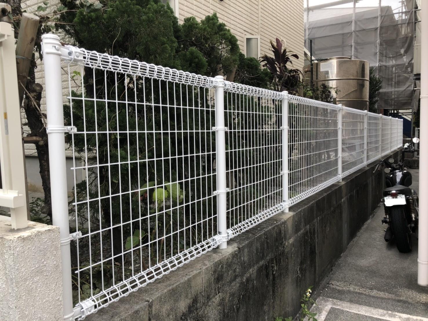フェンス工事(リフォーム施工事例)を公開しました。 | 沖縄や那覇でリフォームするなら【株式会社 あうん工房】