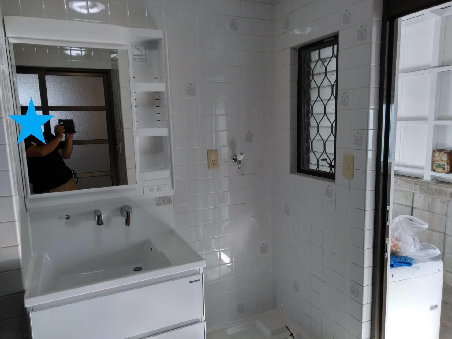 洗面室他リフォーム(リフォーム施工事例)を公開しました。 | 沖縄や那覇でリフォームするなら【株式会社 あうん工房】