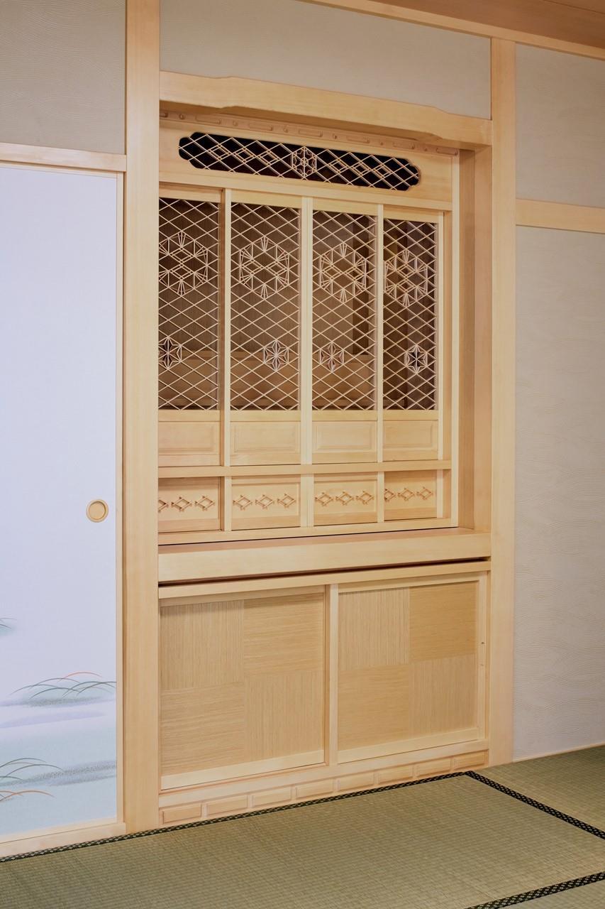 仏壇造作(リフォーム施工事例)を公開しました。 | 沖縄や那覇でリフォームするなら【株式会社 あうん工房】