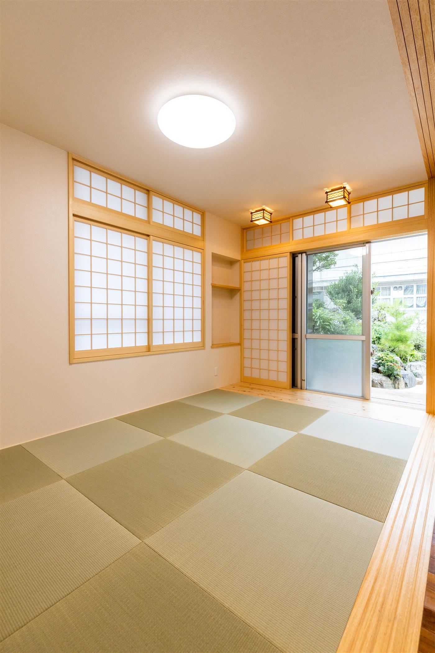 和室造作(リフォーム施工事例)を公開しました。 | 沖縄や那覇でリフォームするなら【株式会社 あうん工房】