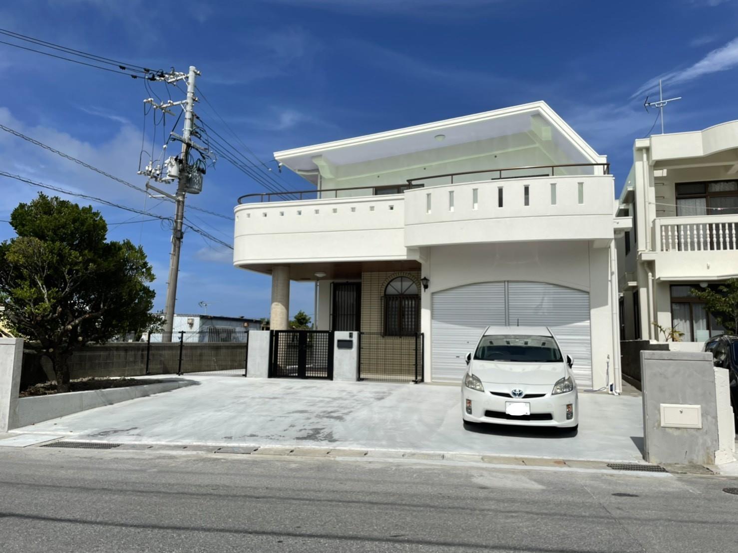 駐車場を広く(リフォーム施工事例)を公開しました。 | 沖縄や那覇でリフォームするなら【株式会社 あうん工房】