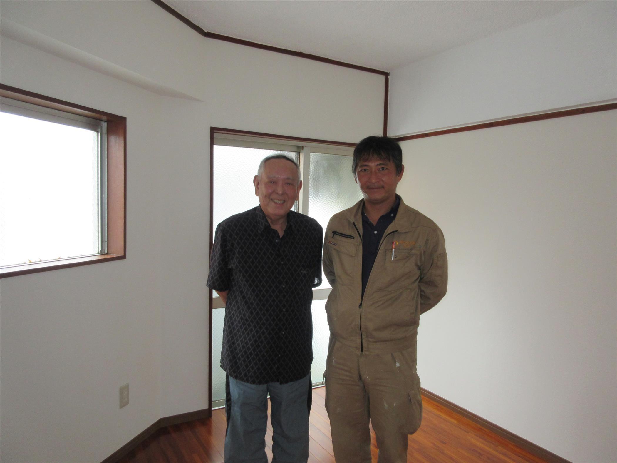 泊アパート改装工事(お客様の声)を公開しました。 | 沖縄や那覇でリフォームするなら【株式会社 あうん工房】