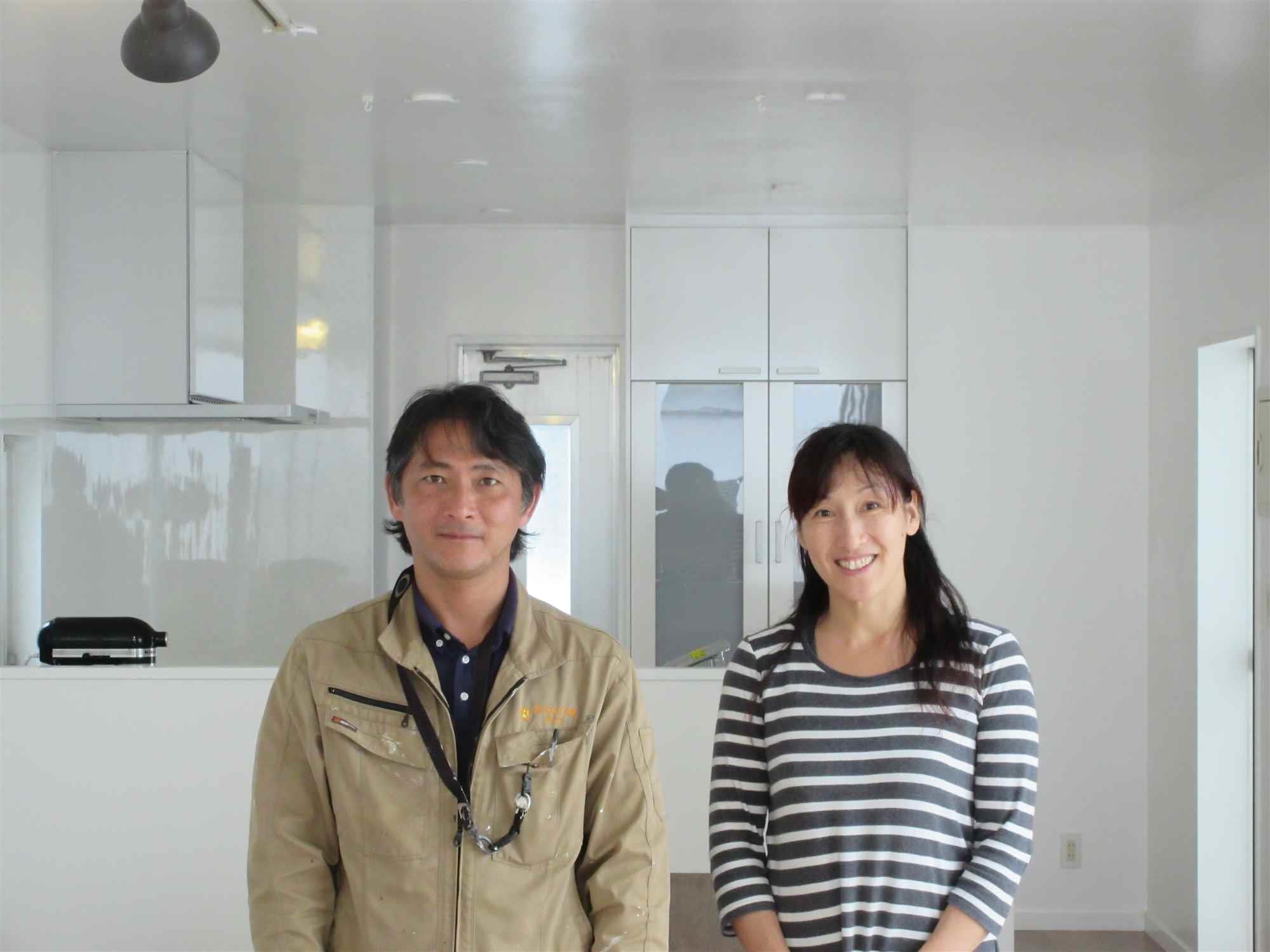 沖縄・那覇のリフォーム 実際のお客様の写真:大満足しています。