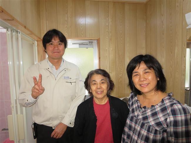 沖縄・那覇のリフォーム 実際のお客様の写真:バリアフリ-で使いやすくなりました。