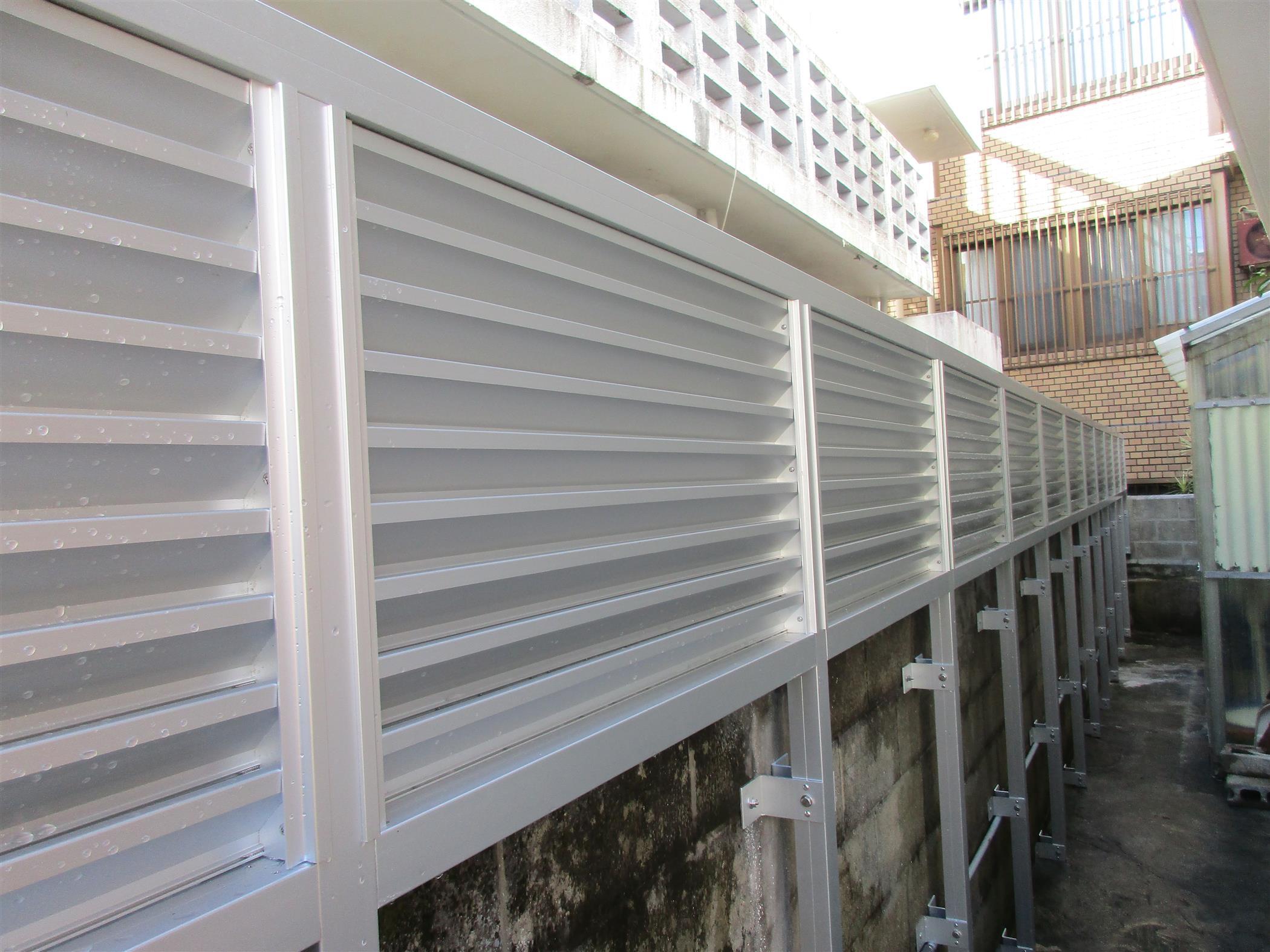 目隠しフェンス(リフォーム施工事例)を公開しました。 | 沖縄や那覇でリフォームするなら【株式会社 あうん工房】