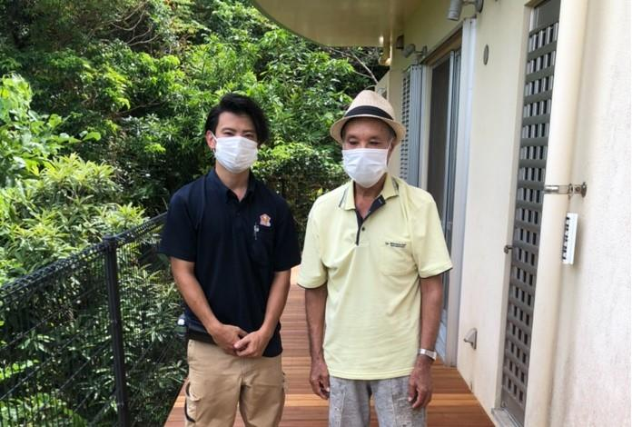 沖縄・那覇のリフォーム 実際のお客様の写真:丁寧な工事で、出来栄えも良い