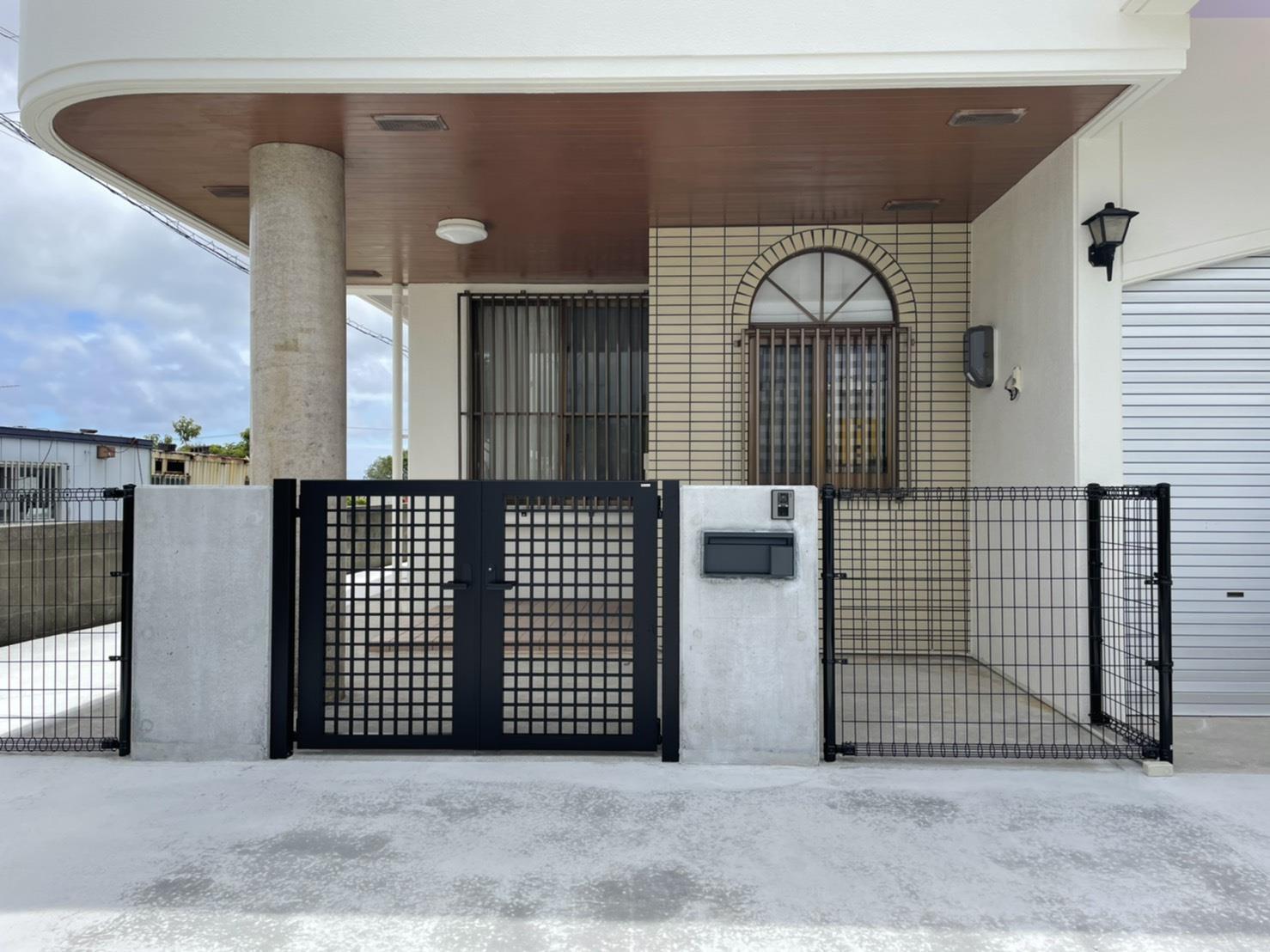 門扉工事(リフォーム施工事例)を公開しました。 | 沖縄や那覇でリフォームするなら【株式会社 あうん工房】