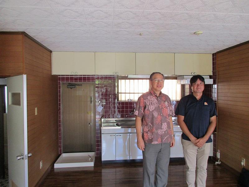 沖縄・那覇のリフォーム 実際のお客様の写真:職員宿舎修繕工事